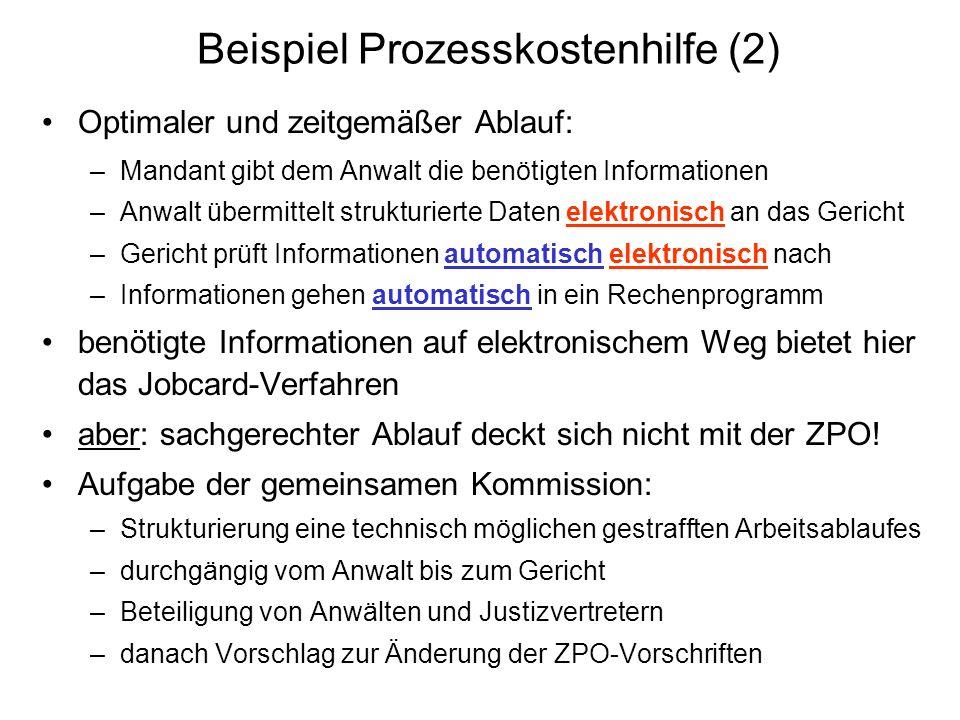 Beispiel Prozesskostenhilfe (2)