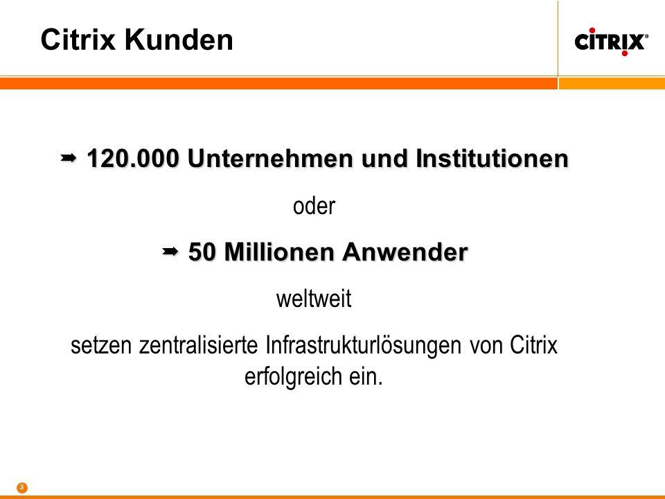  120.000 Unternehmen und Institutionen