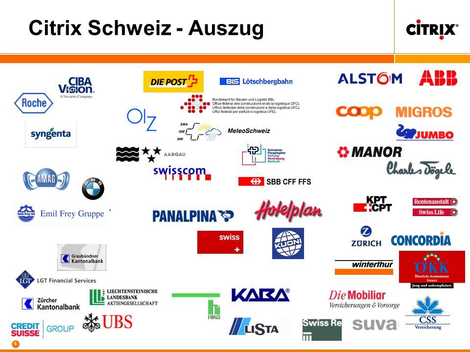 Citrix Schweiz - Auszug