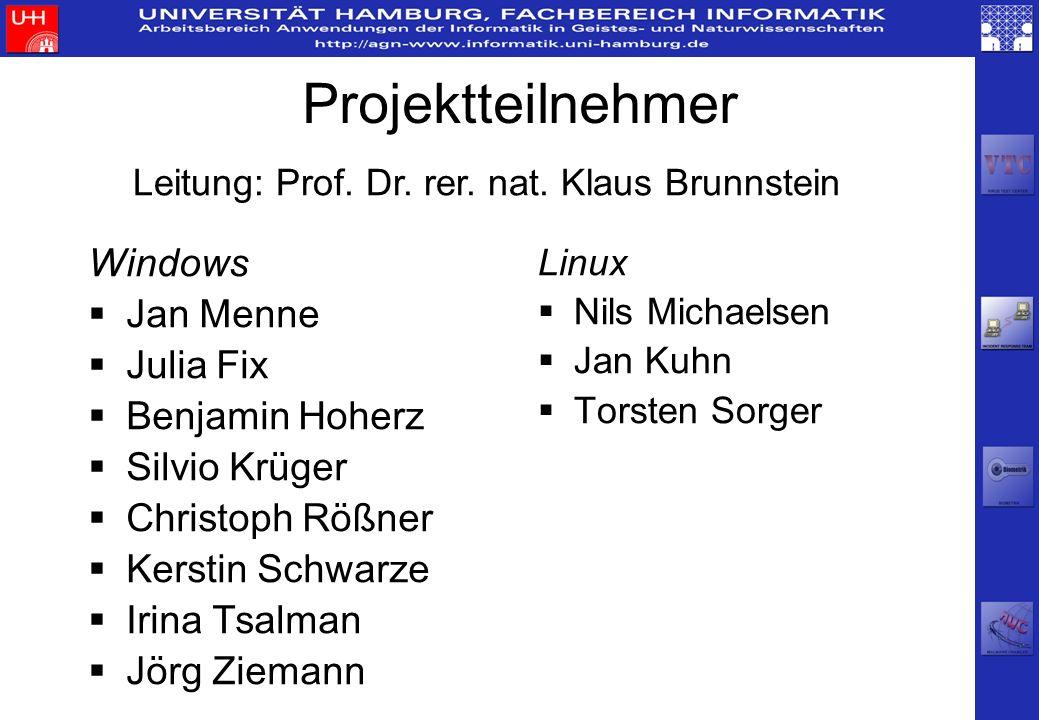 Leitung: Prof. Dr. rer. nat. Klaus Brunnstein