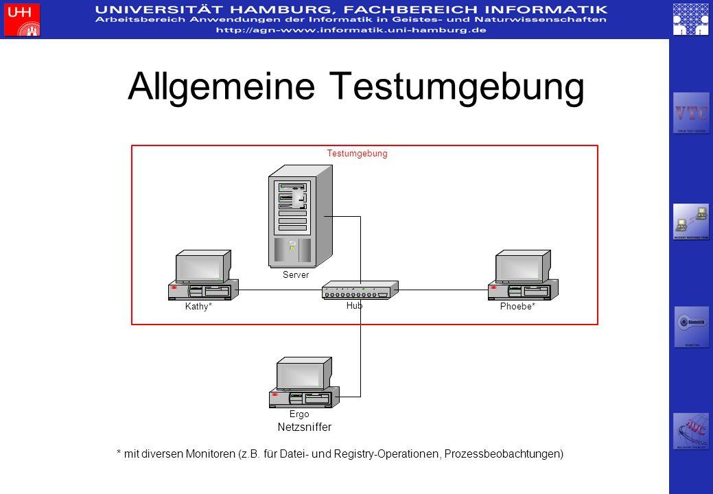Allgemeine Testumgebung