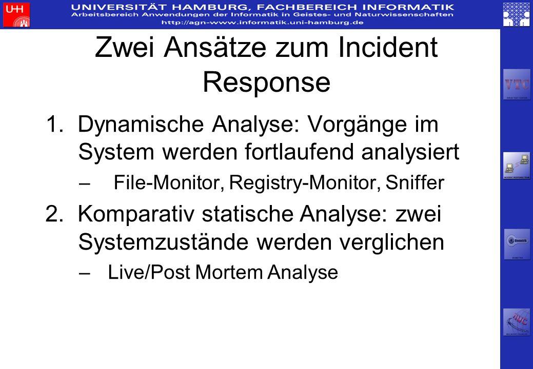 Zwei Ansätze zum Incident Response