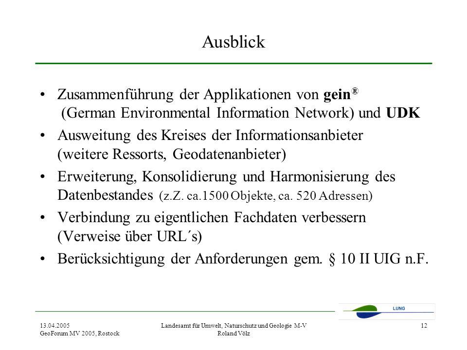 Landesamt für Umwelt, Naturschutz und Geologie M-V