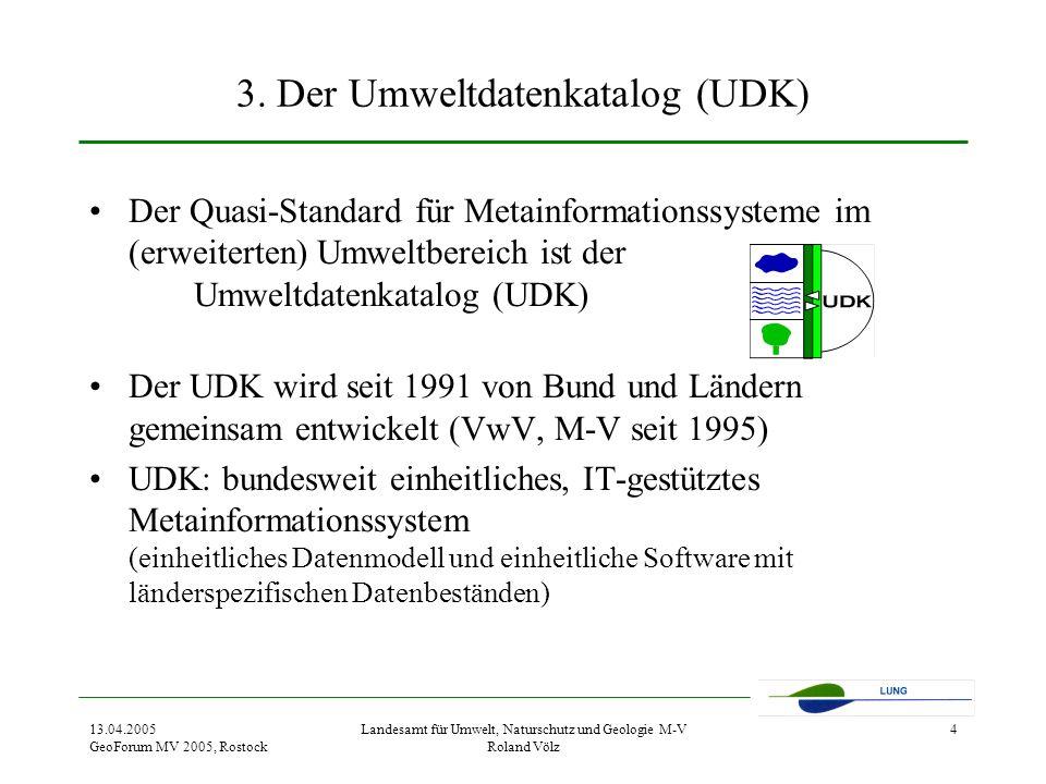 3. Der Umweltdatenkatalog (UDK)