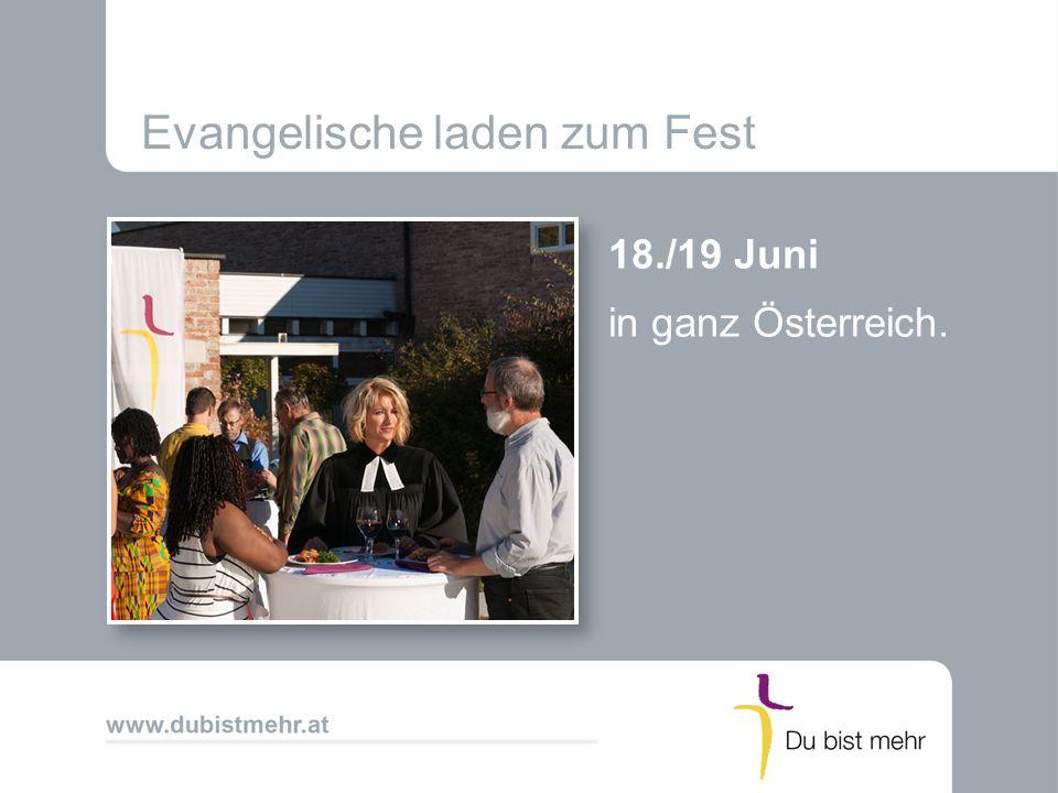 Evangelische laden zum Fest