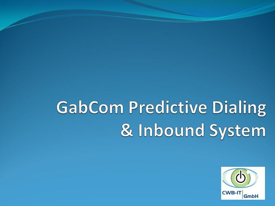 GabCom Predictive Dialing & Inbound System