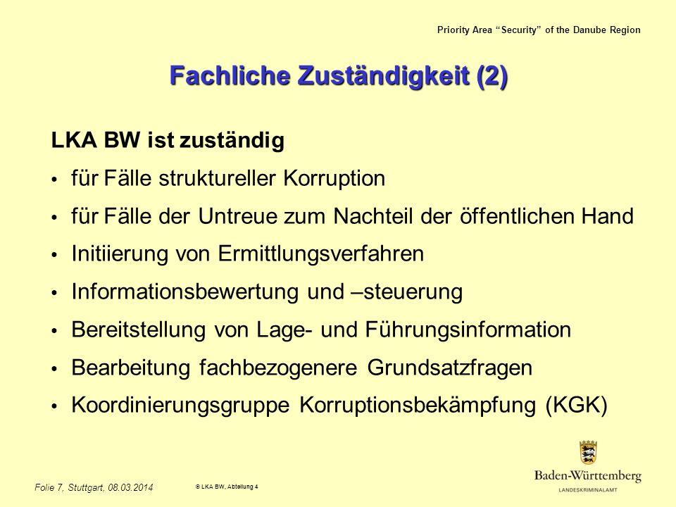 Fachliche Zuständigkeit (2)