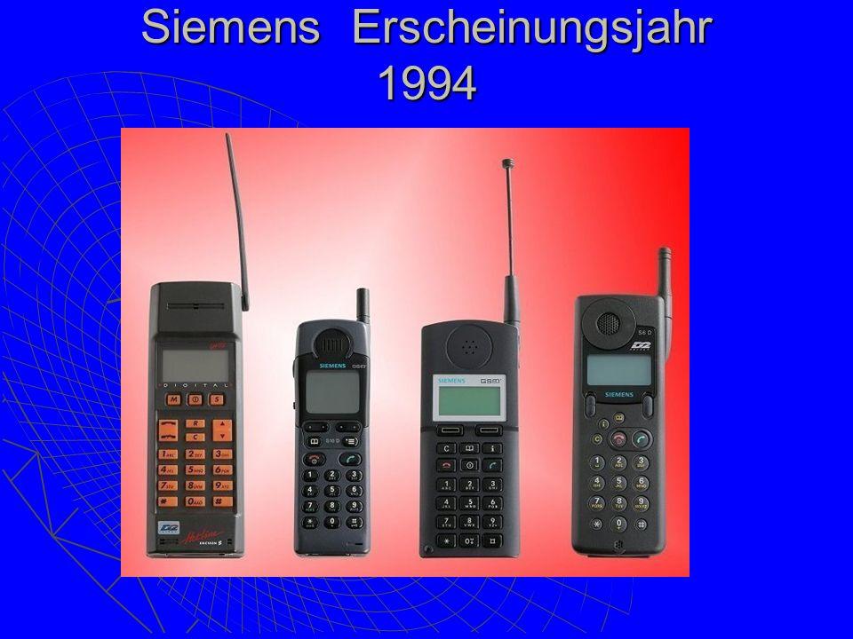 Siemens Erscheinungsjahr 1994