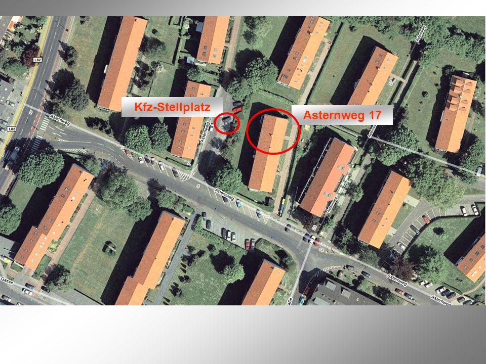 Kfz-Stellplatz Asternweg 17