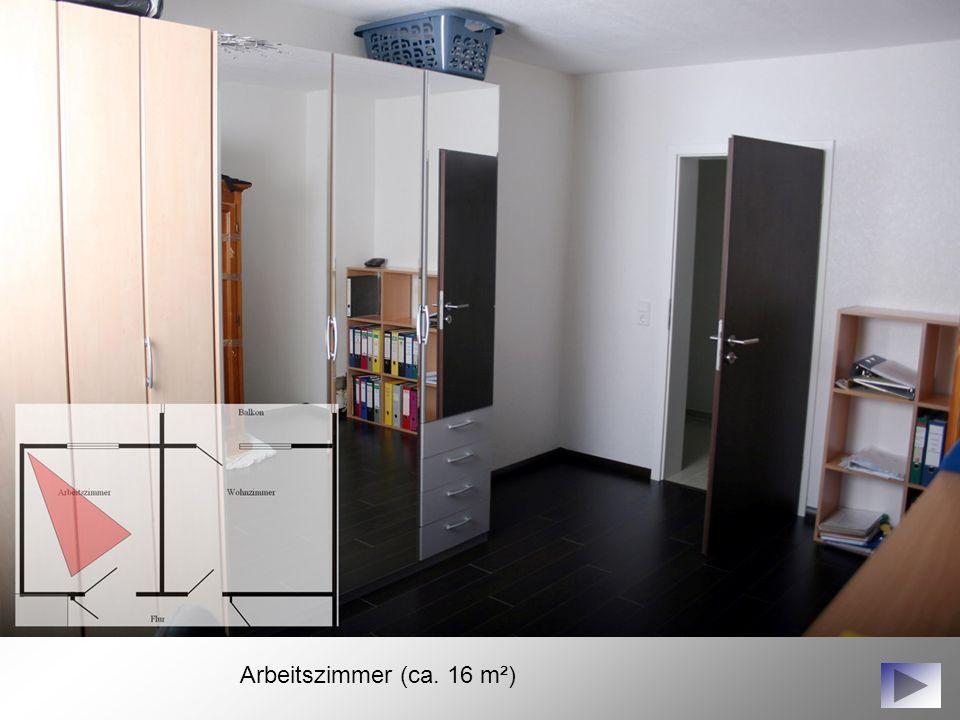 Arbeitszimmer (ca. 16 m²)