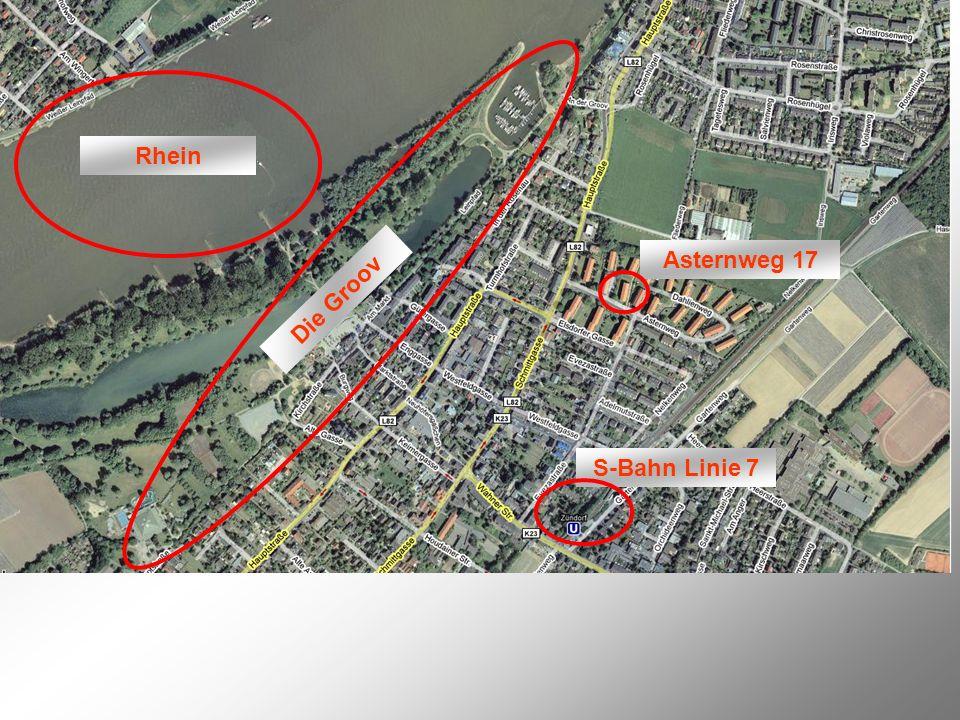 Rhein Asternweg 17 Die Groov S-Bahn Linie 7