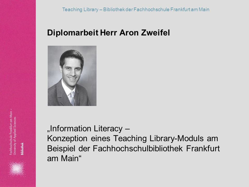 Diplomarbeit Herr Aron Zweifel