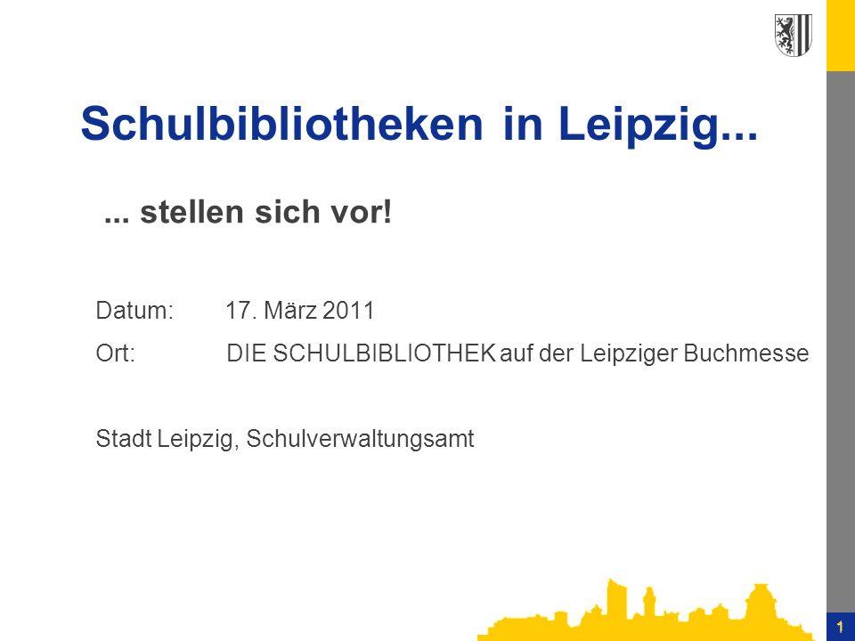 Schulbibliotheken in Leipzig...