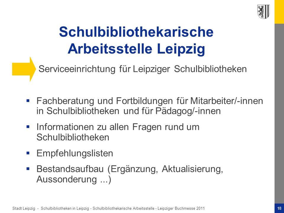 Schulbibliothekarische Arbeitsstelle Leipzig