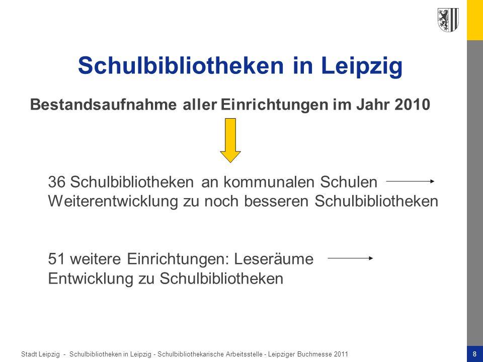 Schulbibliotheken in Leipzig