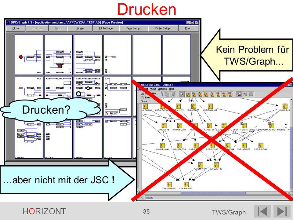 Drucken Drucken Kein Problem für TWS/Graph...