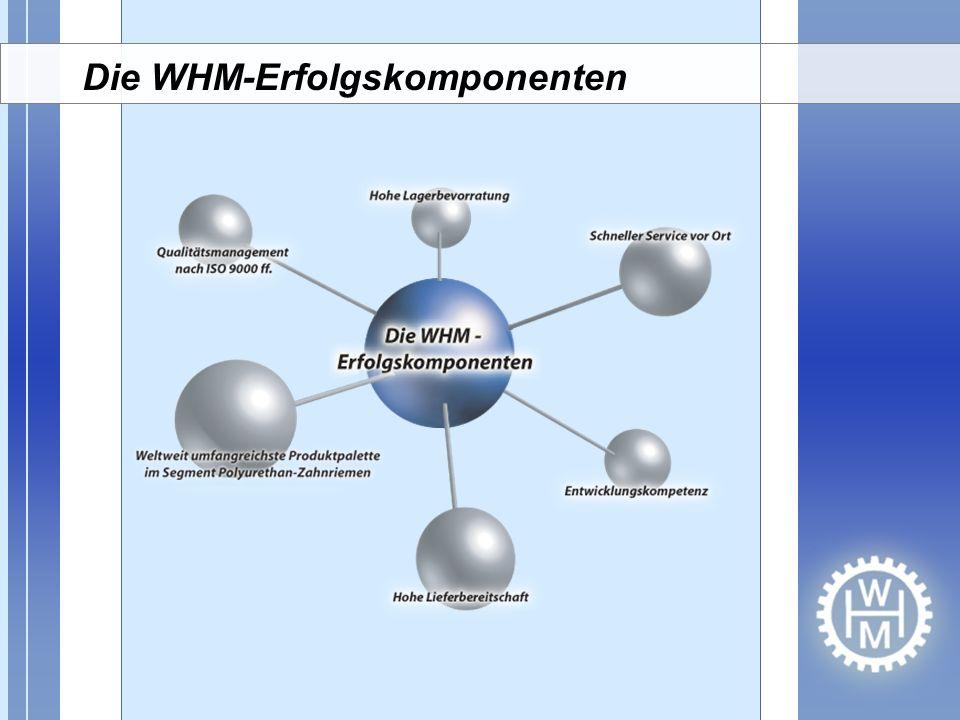 Die WHM-Erfolgskomponenten