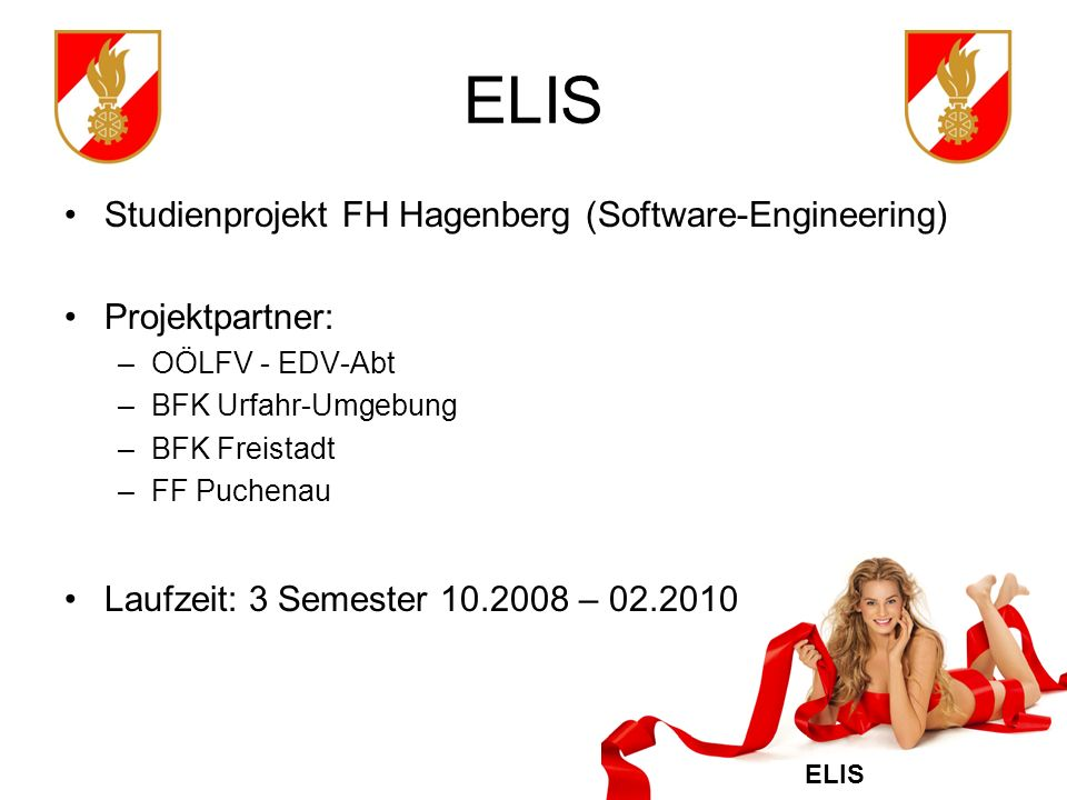 ELIS Studienprojekt FH Hagenberg (Software-Engineering)