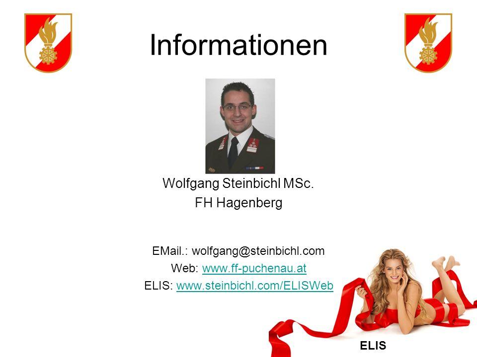 Informationen Wolfgang Steinbichl MSc. FH Hagenberg