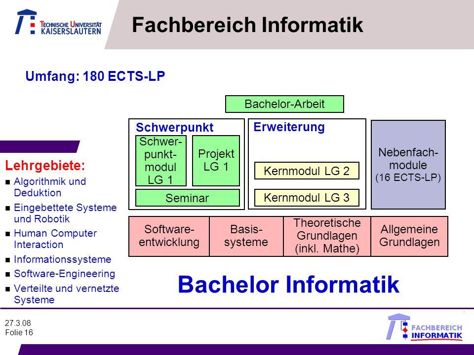 Fachbereich Informatik