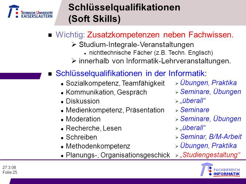 Schlüsselqualifikationen (Soft Skills)