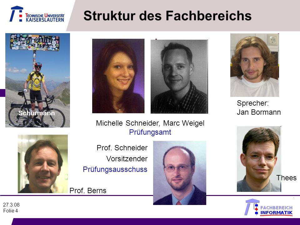 Michelle Schneider, Marc Weigel Prüfungsamt