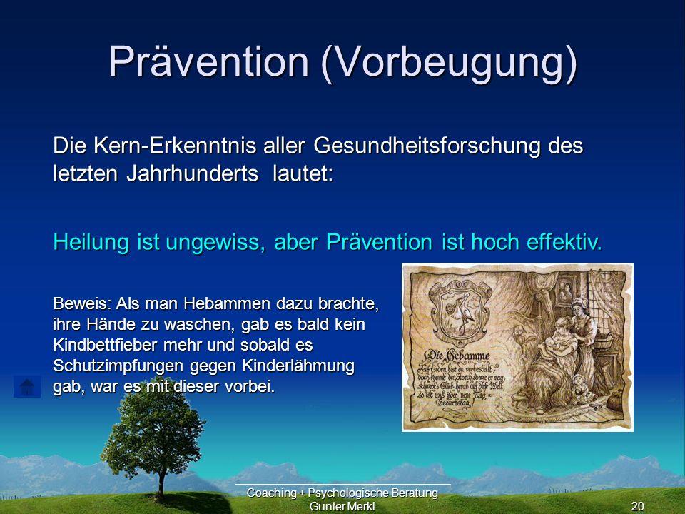 Prävention (Vorbeugung)