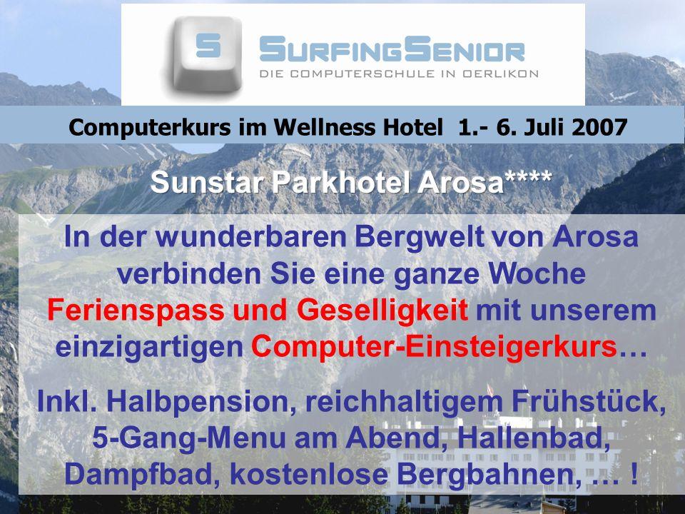 Sunstar Parkhotel Arosa****