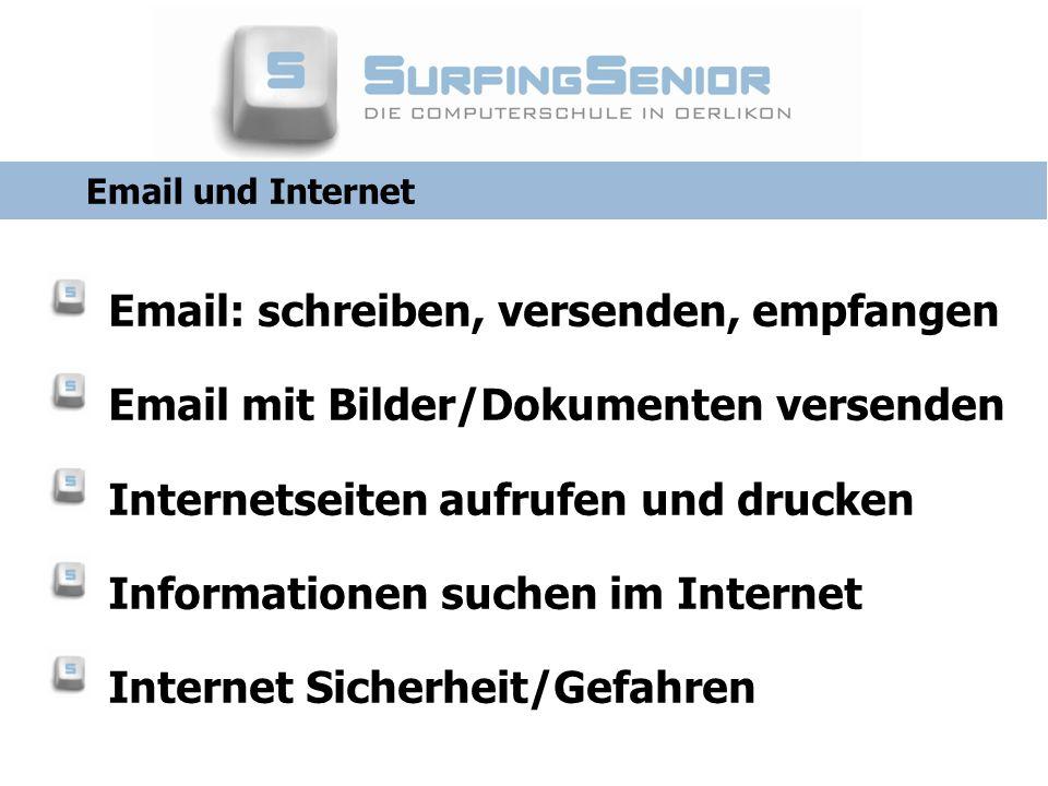 Email: schreiben, versenden, empfangen
