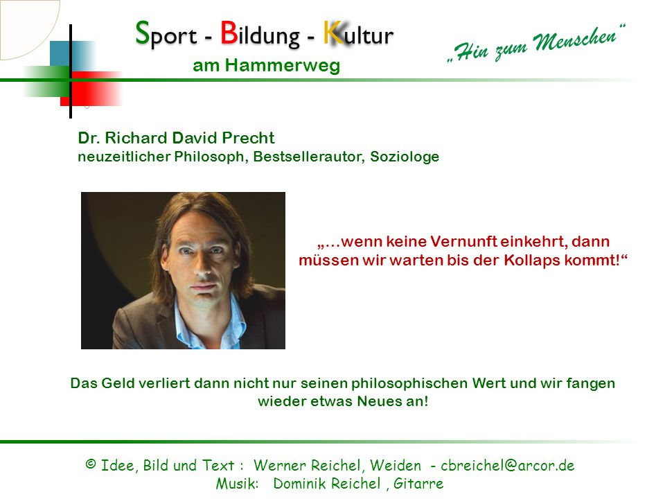 Dr. Richard David Precht