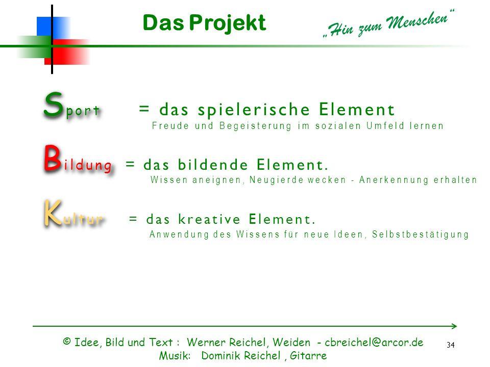 """Das Projekt """"Hin zum Menschen"""
