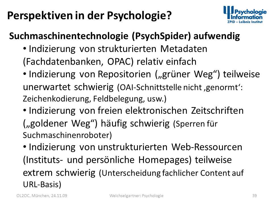 Weichselgartner: Psychologie