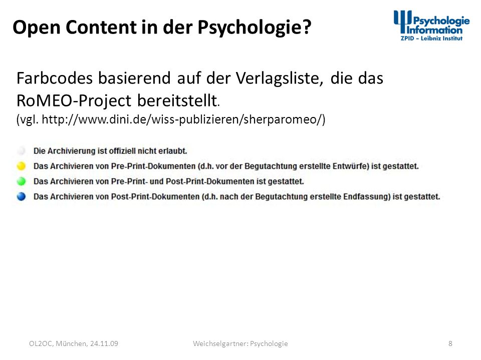 Weichselgartner: Psychologie