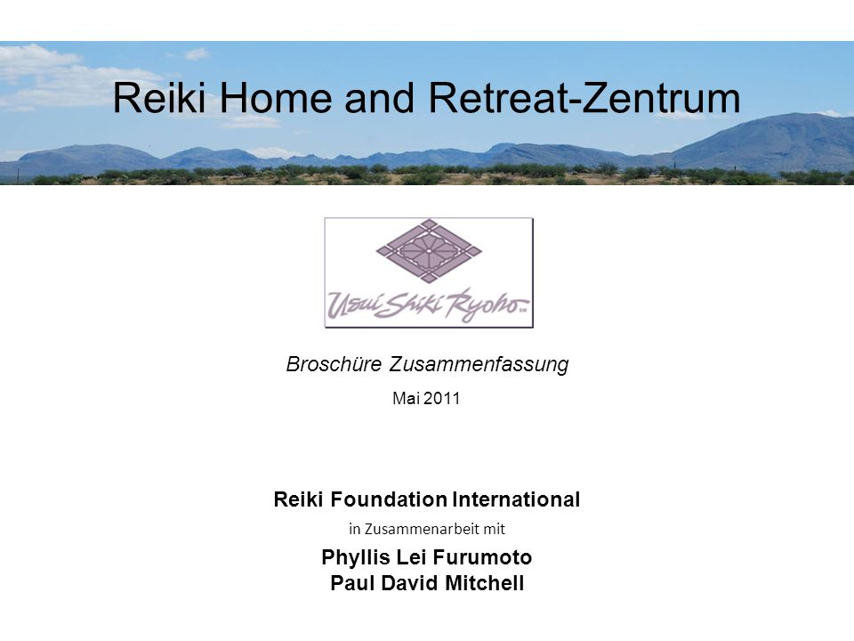 Reiki Home and Retreat-Zentrum