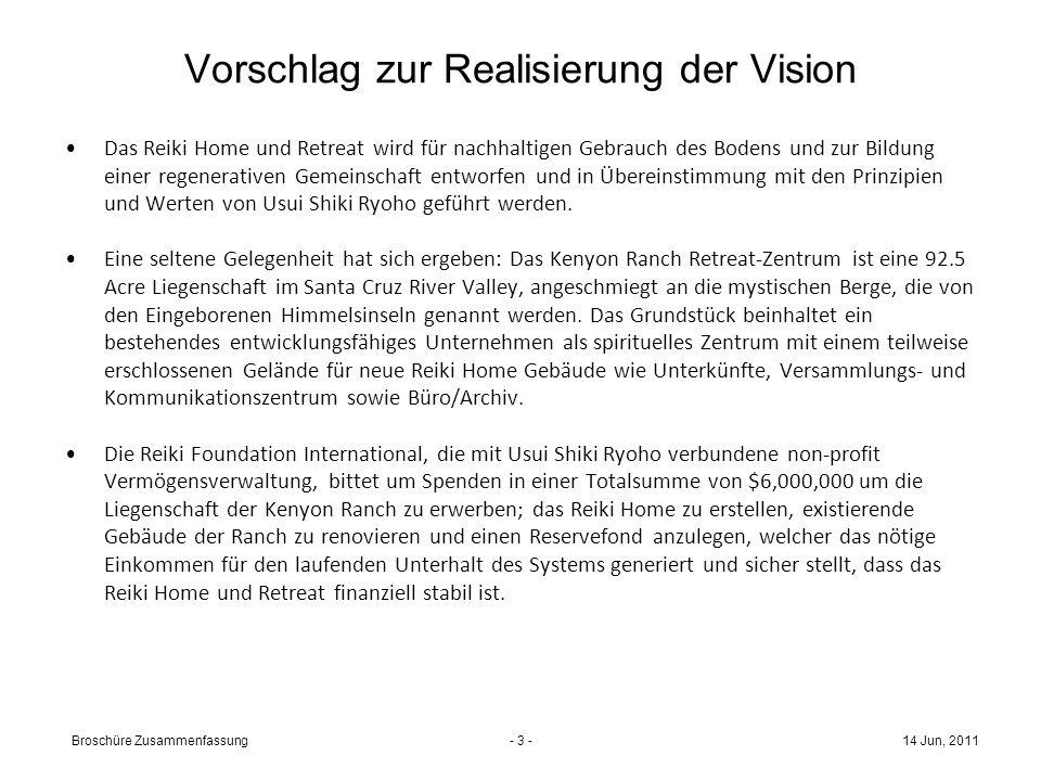 Vorschlag zur Realisierung der Vision