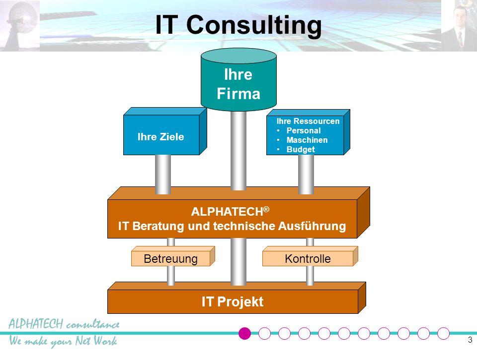 IT Beratung und technische Ausführung