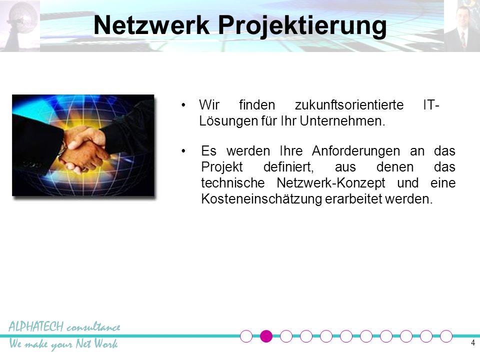 Netzwerk Projektierung