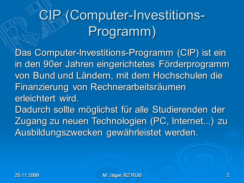 CIP (Computer-Investitions-Programm)