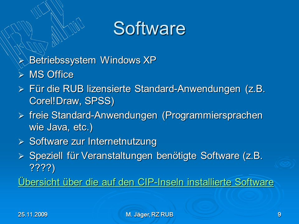 Software Betriebssystem Windows XP MS Office