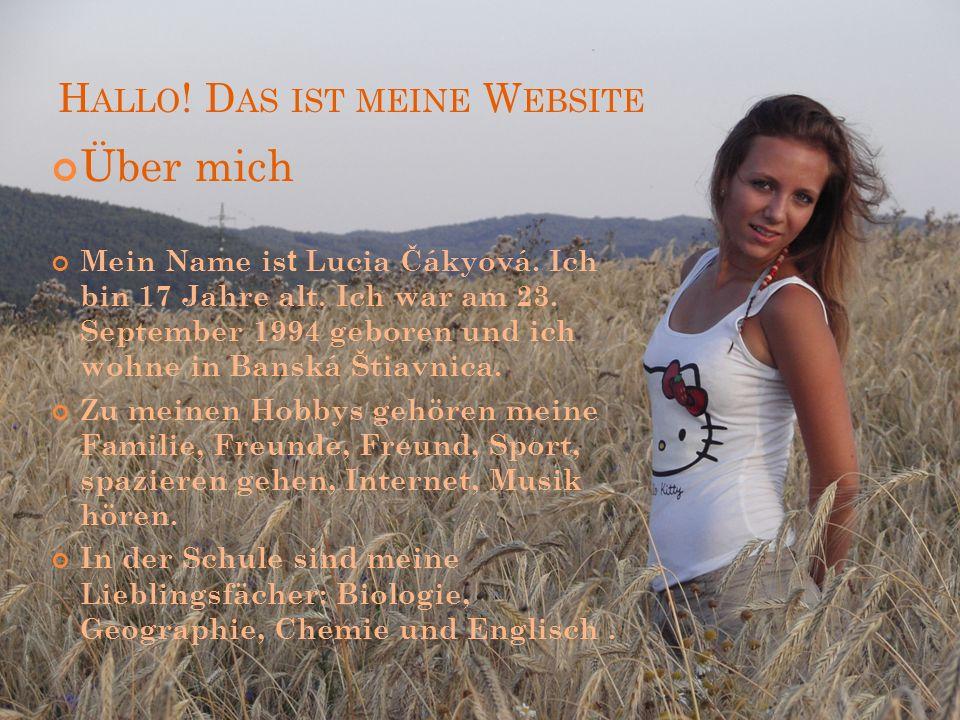 Hallo! Das ist meine Website