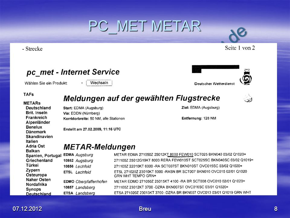 PC_MET METAR 07.12.2012 Breu