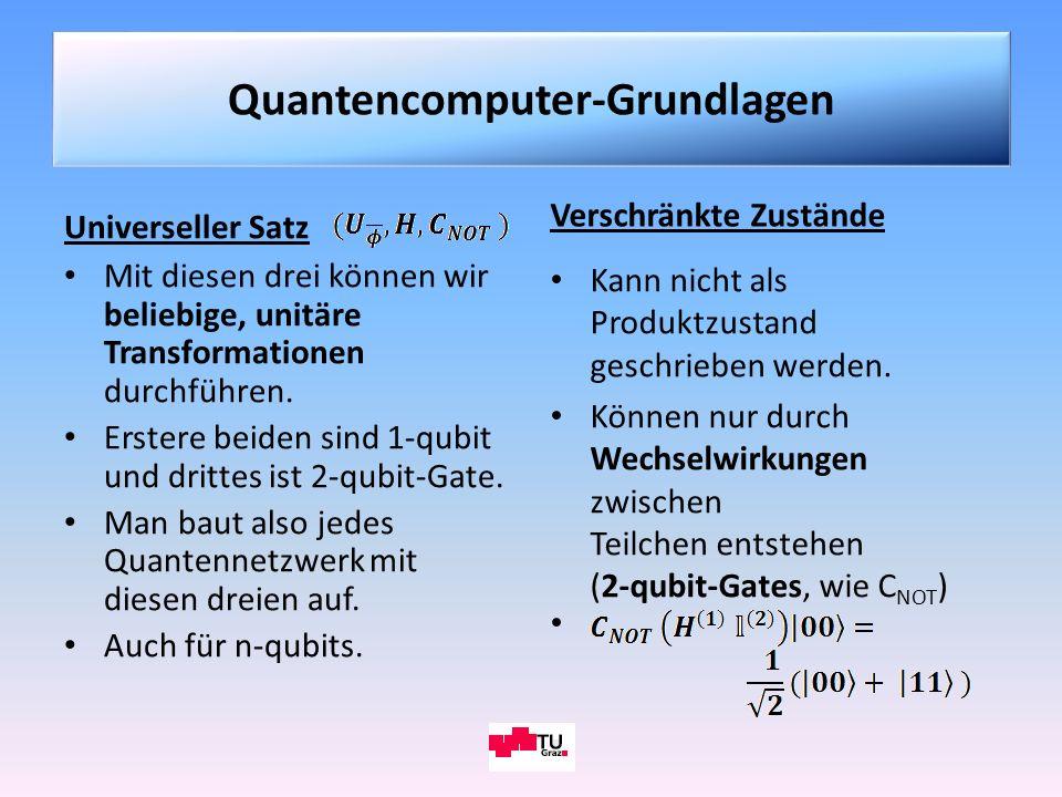 Quantencomputer-Grundlagen