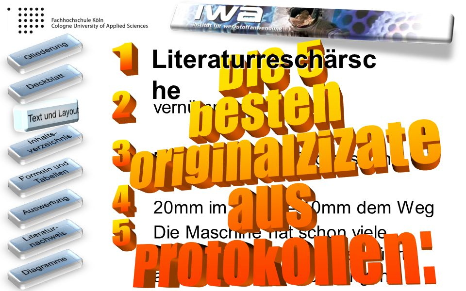 Literaturreschärsche