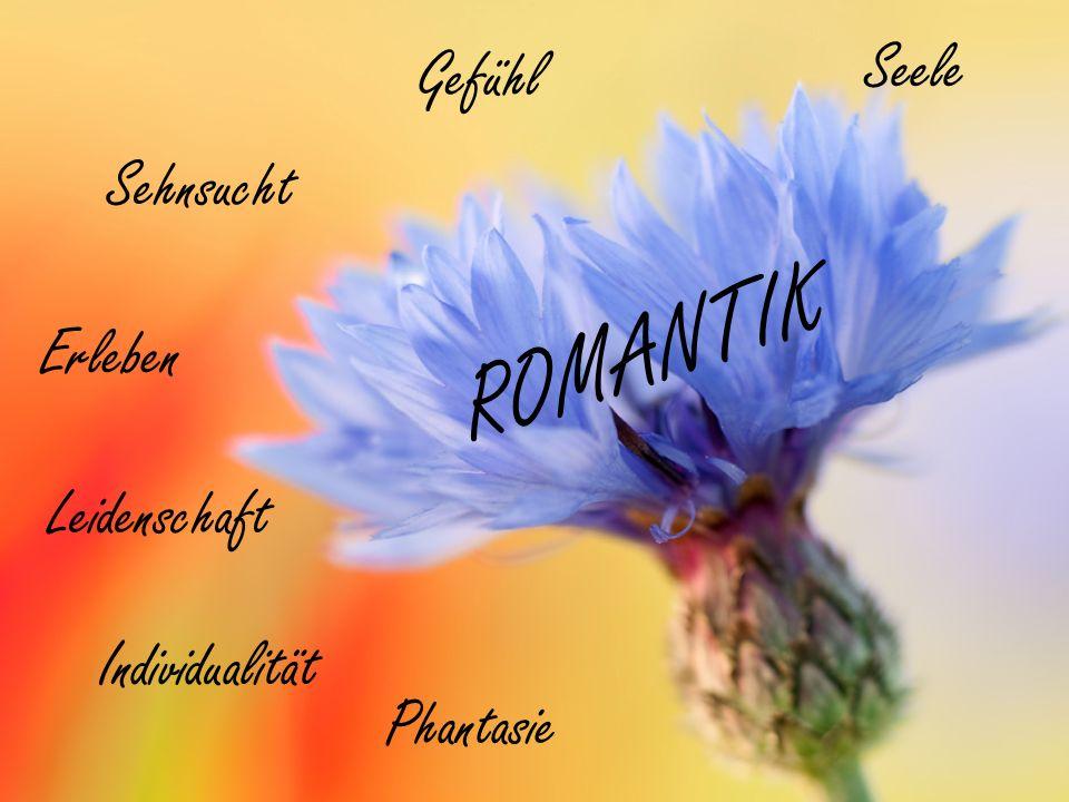 ROMANTIK Seele Gefühl Sehnsucht Erleben Leidenschaft Individualität
