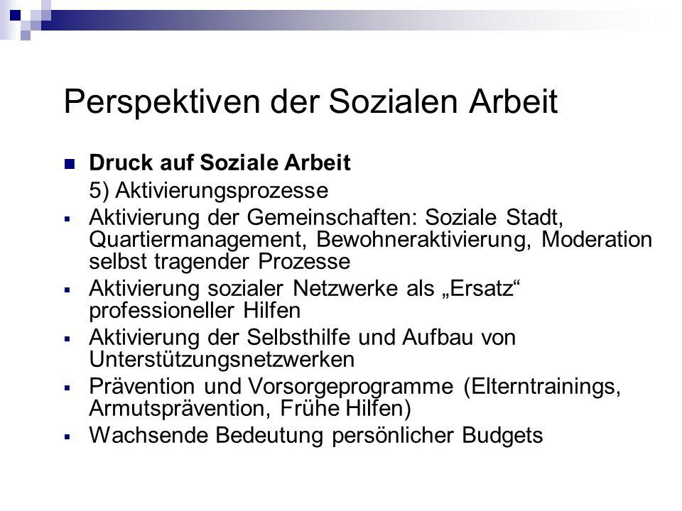 Perspektiven der Sozialen Arbeit