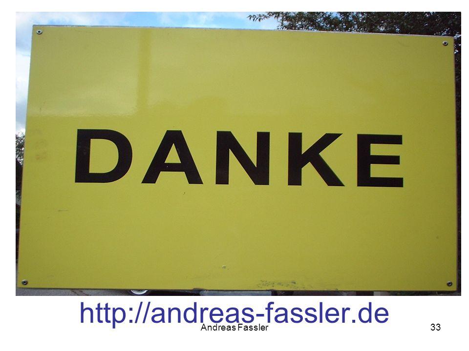 http://andreas-fassler.de Andreas Fassler