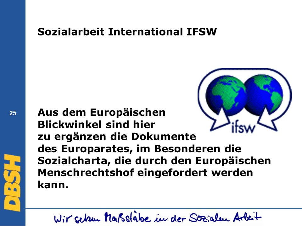 Sozialarbeit International IFSW