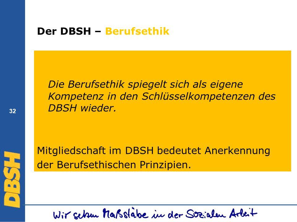 Mitgliedschaft im DBSH bedeutet Anerkennung
