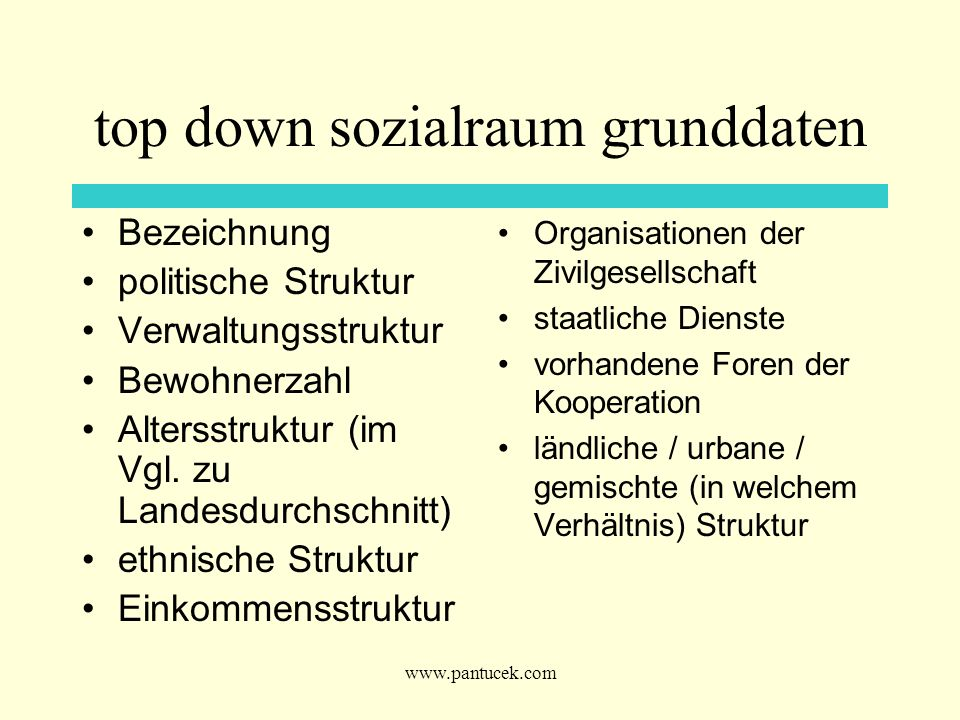 top down sozialraum grunddaten