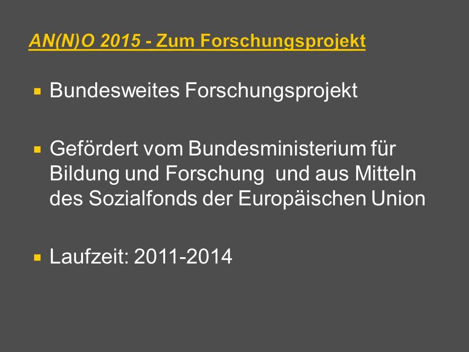 AN(N)O 2015 - Zum Forschungsprojekt